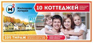 Жилищная лотерея тираж 205 loto-pobeda.ru